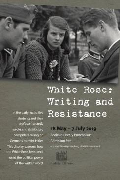 White Rose poster PRINT 2